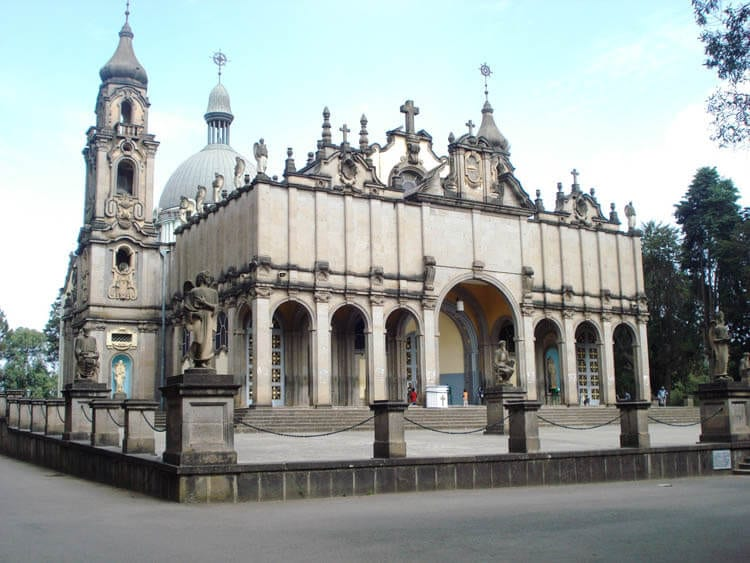 Holy Trinity Cathedral - Addis Ababa