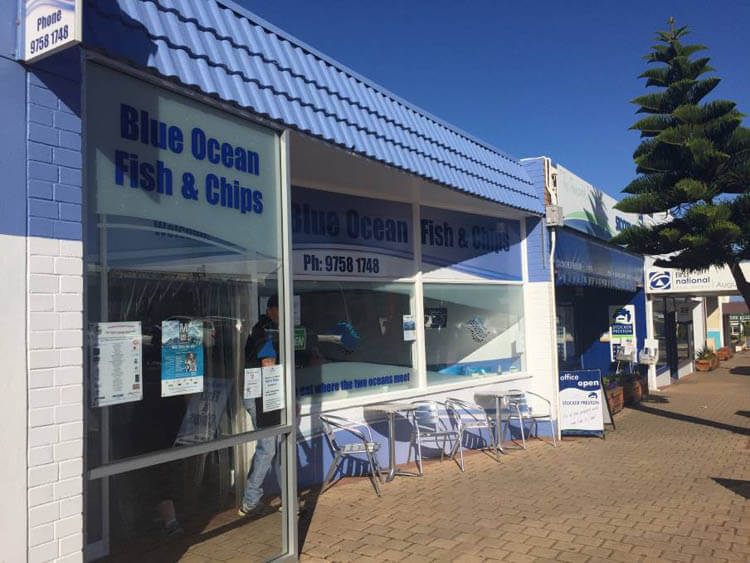 The Best Fish and Chips in Western Australia - Blue Ocean, Augusta