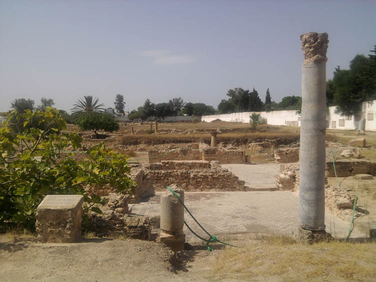 The Archaeological Remains of Pupput, Hammamet