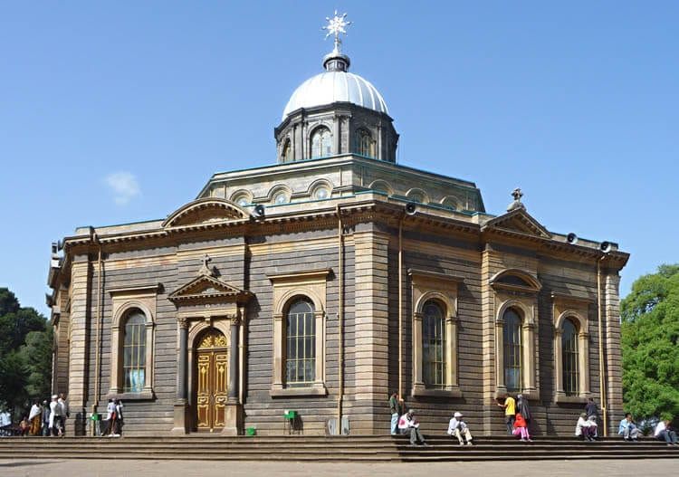 St George's Cathedral, Ethiopia, Africa