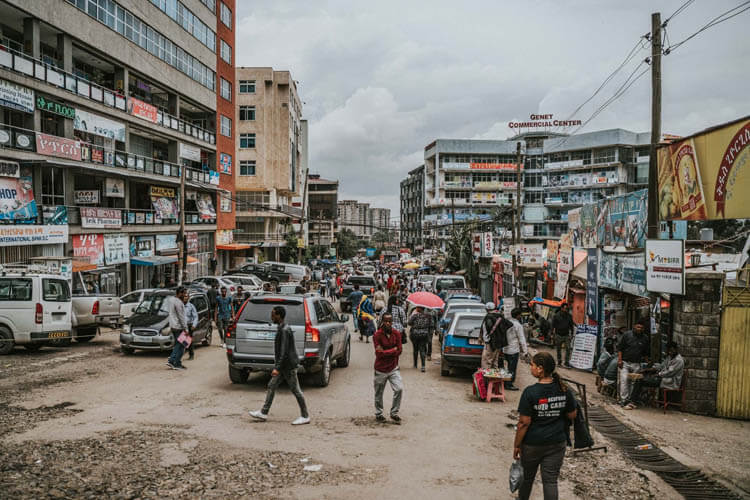 The Back Streets of Addis Ababa
