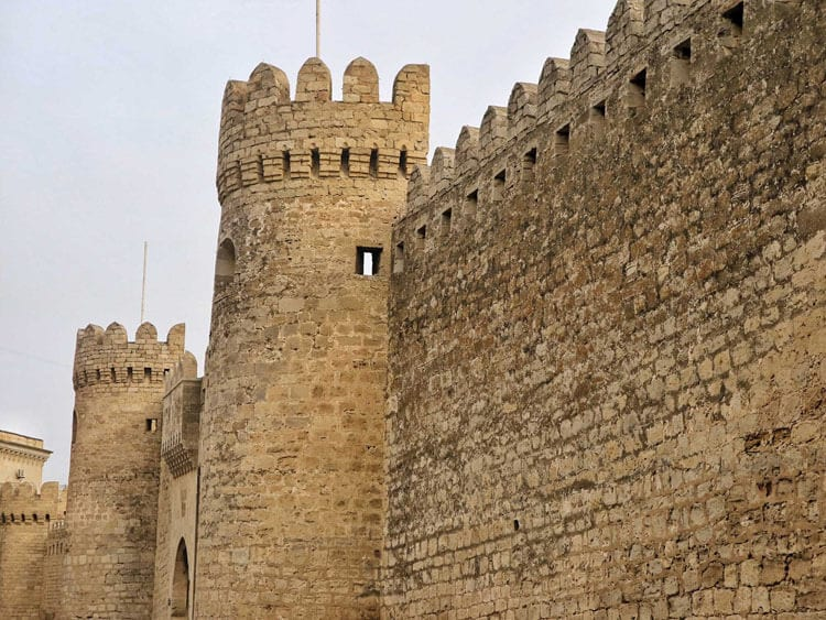 Old City Walls, Baku