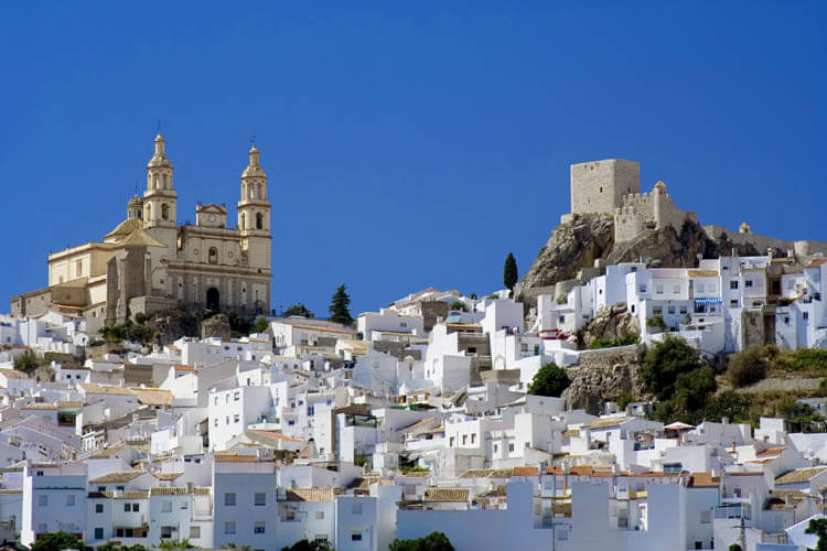 White Villages of Cadiz, Spain
