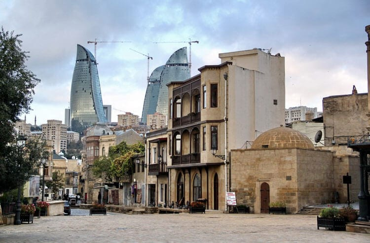 Walk the Baku Old City